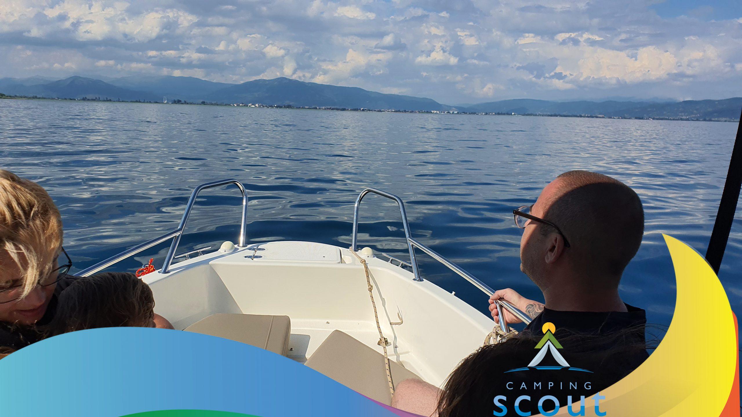 Speed Boating on Lake Ohrid